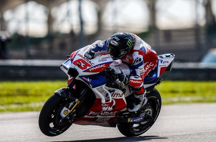 Francesco Bagnaia, mudir VR46 Riders Academy jadi terkencang kedua di tes pramusim MotoGP Sepang