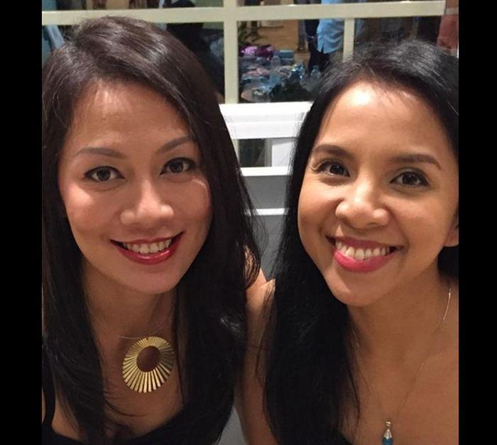 Dewi Lestari dan Arina 'Mocca'