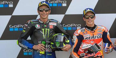 Marc Marquez Lebih Dipilih Jadi Pembalap Terbaik daripada Valentino Rossi