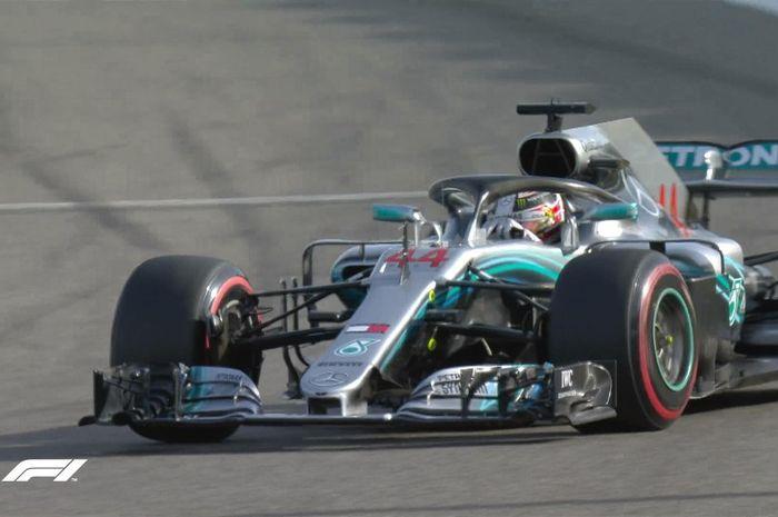 Mercedes merosot di posisi FP3 F1 Bahrain