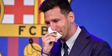 Meninggalkan Barcelona adalah Keputusan Sulit bagi Lionel Messi