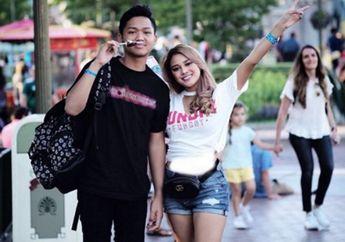 Momen Kompak Aurel dan Azriel, Anak Anang Hermansyah. #SiblingGoals!