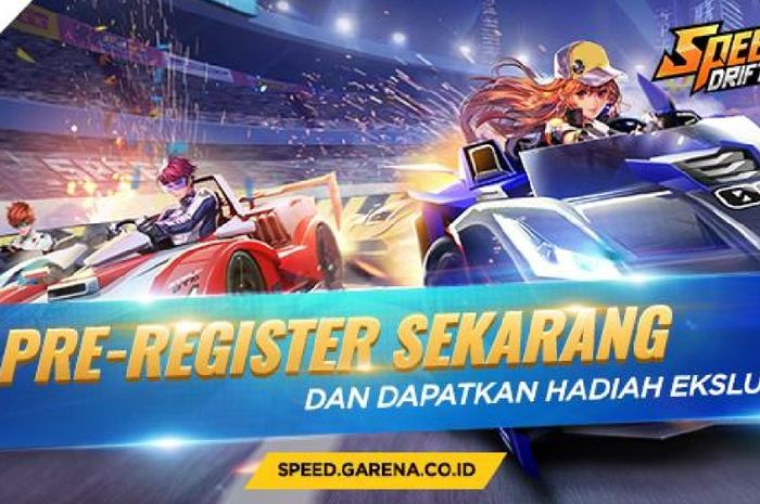 Cobain, Yuk! Garena Rilis Game Mobile Racing Bernama Speed