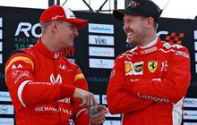 Pesan Sebastian Vettel Soal Mick Schumacher yang Jadi Pembalap Muda Ferrari