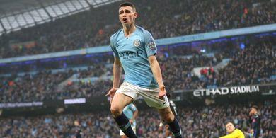 Bawa Man City ke Pucuk Klasemen Liga Inggris, Phil Foden Panen 2 Rekor
