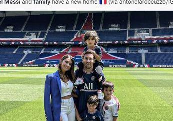Gabung PSG, Indahnya Paris Bisa Jadi Saksi Kelahiran Anak Gadis Messi