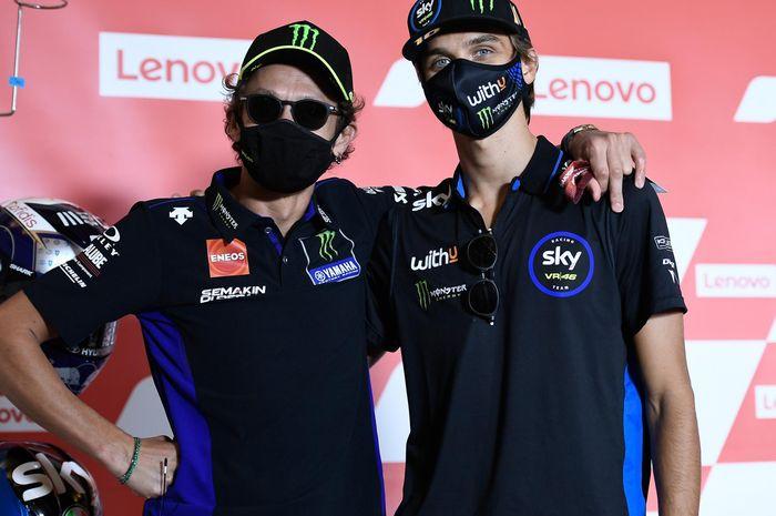 Dipastikan naik ke kelas MotoGP 2021, Luca Marini Kasih peringatan kepada Valentino Rossi, Ada apa nih?