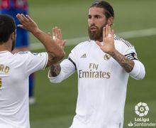 Sergio Ramos Balas Komentar Nyinyir Gerard Pique Soal Real Madrid