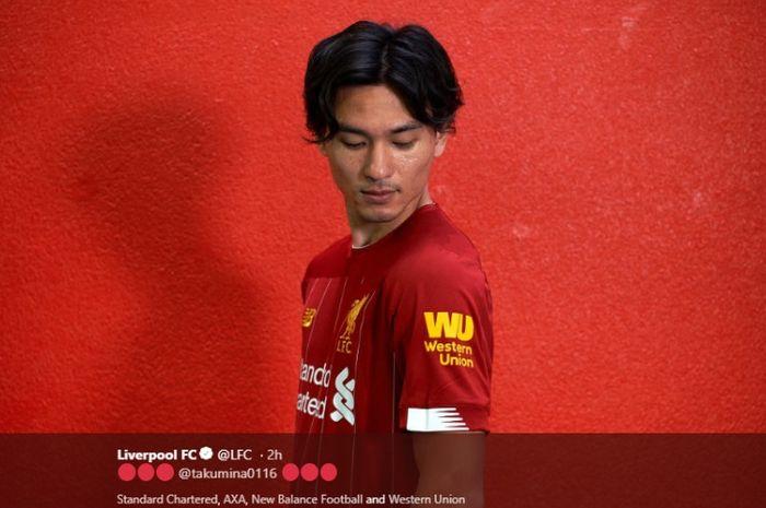 Pemain anyar Liverpool asal Jepang, Takumi Minamino