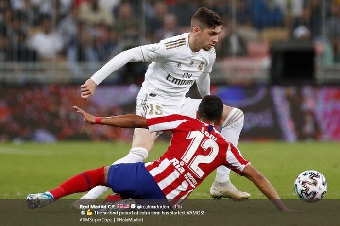Starting Xi Real Madrid Vs Sevilla Misi Lengserkan Barcelona Bolasport Com