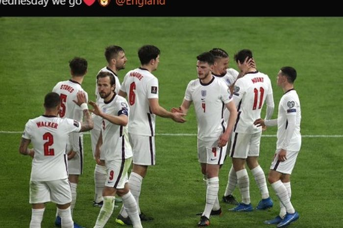 Timnas Inggris sukses meraih kemenangan 2-0 atas timnas Albania pada Kualifikasi Piala Dunia 2022.
