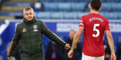 Solskjaer Ingin Tandemkan Maguire dengan Penerusnya di Leicester City