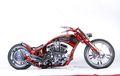Harley-Davidson Evolution Sangar Tapi Dicat Segar