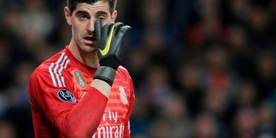 Thibaut Courtois Si Raja Blunder Liga Spanyol Era New Normal