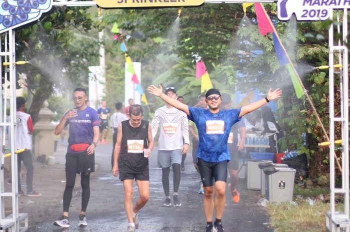 Suasana Mandiri Jogja Marathon 2019.