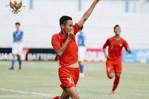 Striker Timnas U-16 Indonesia Enggan Berpuas Diri dan Tetap Bekerja Keras