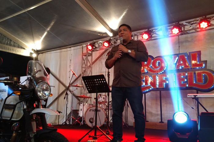 Irvino Edwardly, Country Manager Indonesia untuk Royal Enfield