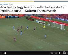 Media Asing Soroti Teknologi Baru yang Dipakai Wasit pada Laga Persija Jakarta Vs Kalteng Putra