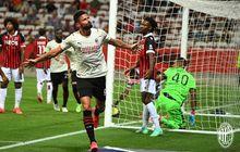 Hasil Pramusim AC Milan - Olivier Giroud Debut Langsung Cetak Gol, Rossoneri Tertahan di Prancis