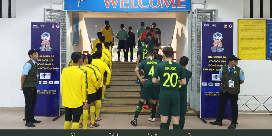 Australia Raih Gelar Juara Piala AFF U-18 2019 Usai Kalahkan Malaysia