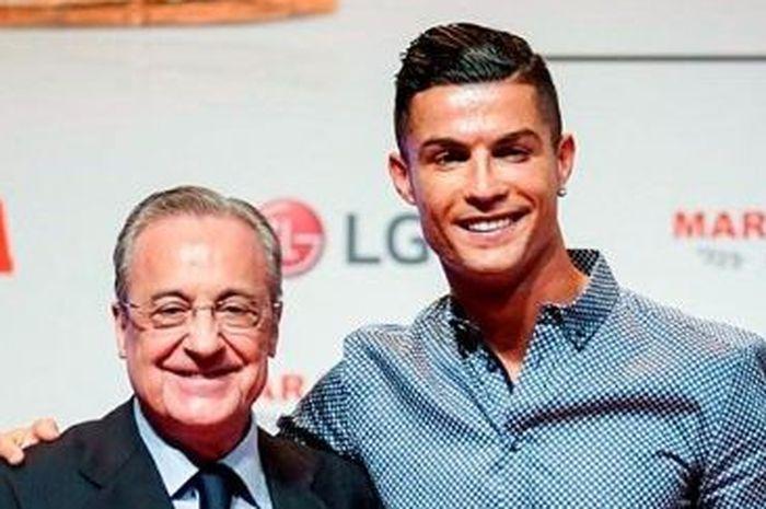 Presiden Real Madrid, Florentino Perez memilki koneksi dengan Cristiano Ronaldo