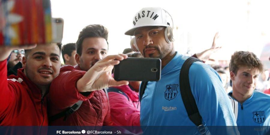 Susunan Pemain Sevilla Vs Barcelona - Boateng Gantikan Luis Suarez