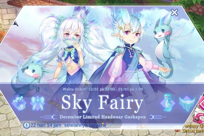 Evento Sky Fairy en Ragnarok M Eternal Love