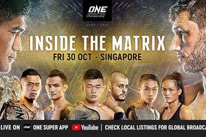 Hasil ONE Championship: Inside The Matrix - Aung La N Sang Dicekik, Ada Juara Baru Kelas Menengah!