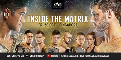 ONE Championship: Inside the Matrix Gelar 4 Title Fight, Bagaimana Cara Menontonnya?