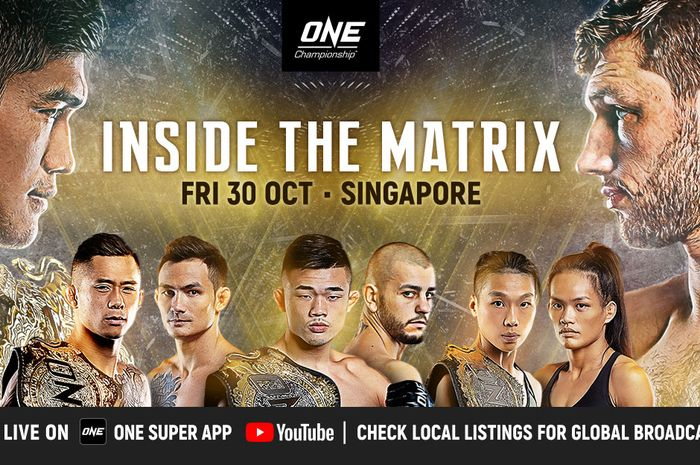 Poster ONE Championship: Inside the Matrix.