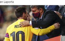 Lionel Messi Minta Joan Laporta Beli 1 Pemain Argentina untuk Perkuat Barcelona