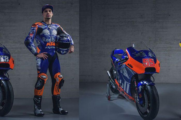 Penampakan livery tim Red Bull KTM Tech 3 mirip tim F1 Toro Rosso