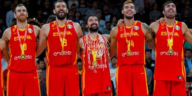 Menangi 2 Gelar Bergengsi, Marc Gasol Masuk Daftar Elite Basket Dunia