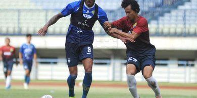 Persib Kalahkan PSS dalam Uji Coba, Wander Luiz Sumbang Gol Lagi