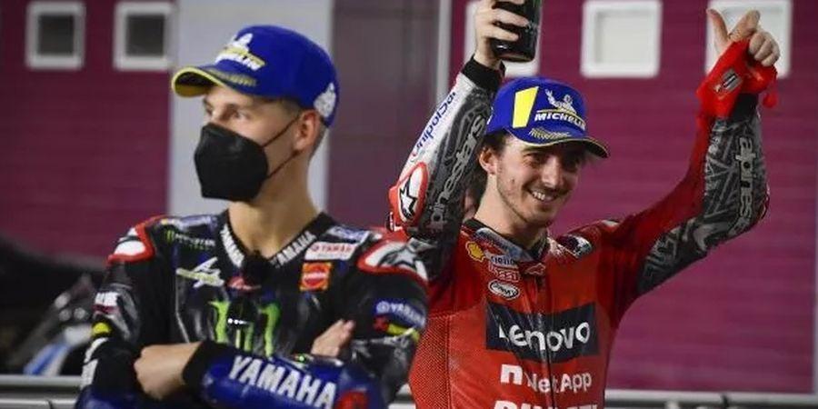 Gagal Tikung Fabio Quartararo Jadi Juara Dunia, Francesco Bagnaia Tak Menyesal