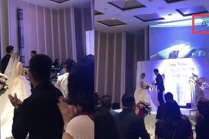 Pengantin Pria Ini Hancurkan Pernikahannya, Bongkar Video Perselingkuhan Istri dengan Iparnya di Depan Ratusan Tamu Pesta