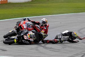 MotoGP Catalunya - Meski Kecewa, Dovizioso Tak Salahkan Johann Zarco