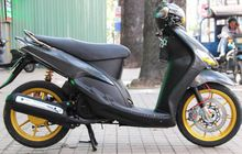 Pakai Komponen Aftermarket Kelas Wahid, Yamaha Mio Jadul Jadi Muda Lagi