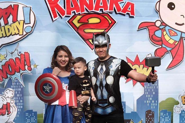 Bertema Superhero, Yuk Intip Keseruan Acara Ultah Anak Tya Ariestya