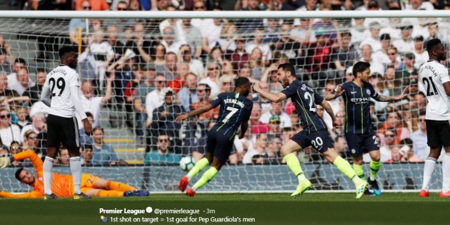 Hasil Akhir Fulham Vs Man City - Menang, City Geser Liverpool