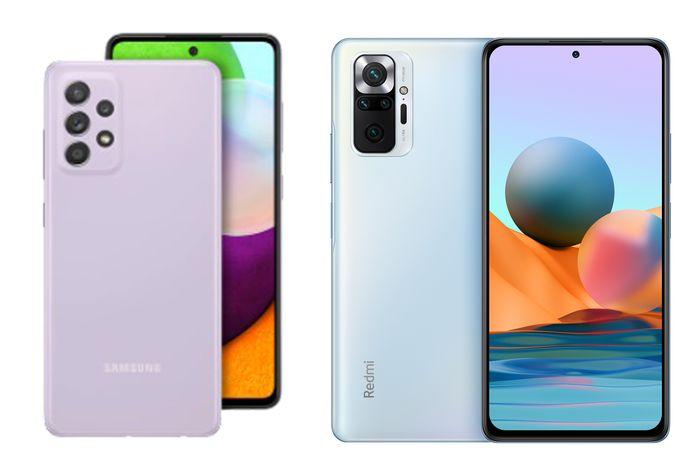 Perbandingan Samsung Galaxy A52 vs Xiaomi Redmi No
