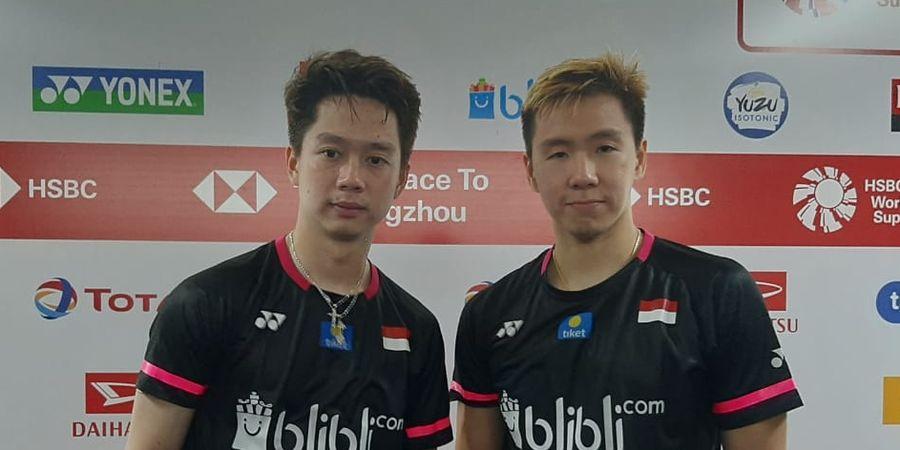 Indonesia Masters 2020 - Gebuk Ganda Malaysia, Marcus/Kevin Raih Tiket Semifinal