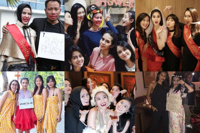 bridal shower selebriti