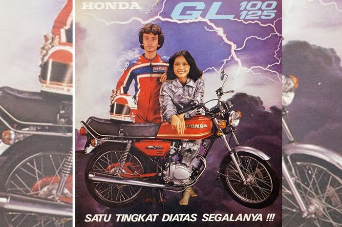 Brosur Honda GL100 GL125