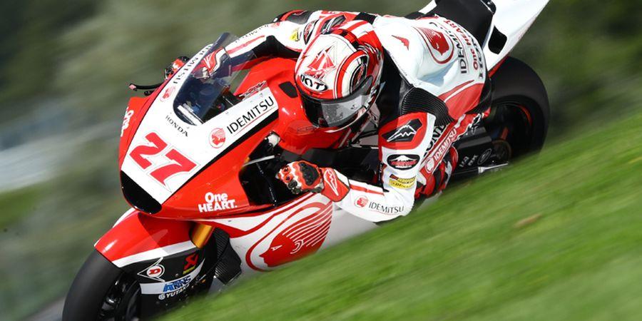 Hasil Moto2 Styria 2020 - Pembalap Indonesia Finis, Rekan Setim Terjatuh