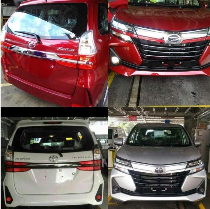 Bocoran tampang Toyota Avanza dan Daihatsu Xenia baru