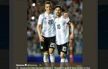 Dibuang PSG, Lo Celso Jadi Bayang-bayang Lionel Messi di Liga Spanyol