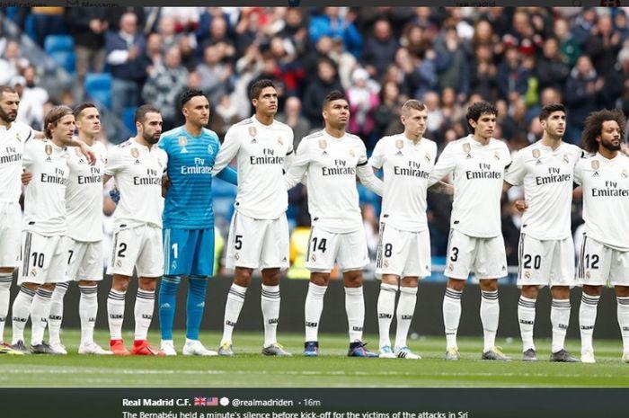 Real Madrid musim ini memiliki rekor selisih poin terburuk dibanding Barcelona di Liga Spanyol