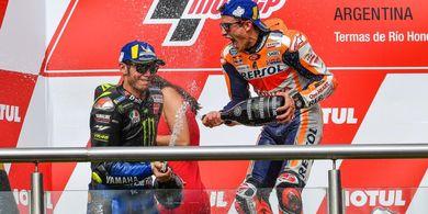 Jawaban Marc Marquez soal Jadi Rekan Satu Tim Valentino Rossi