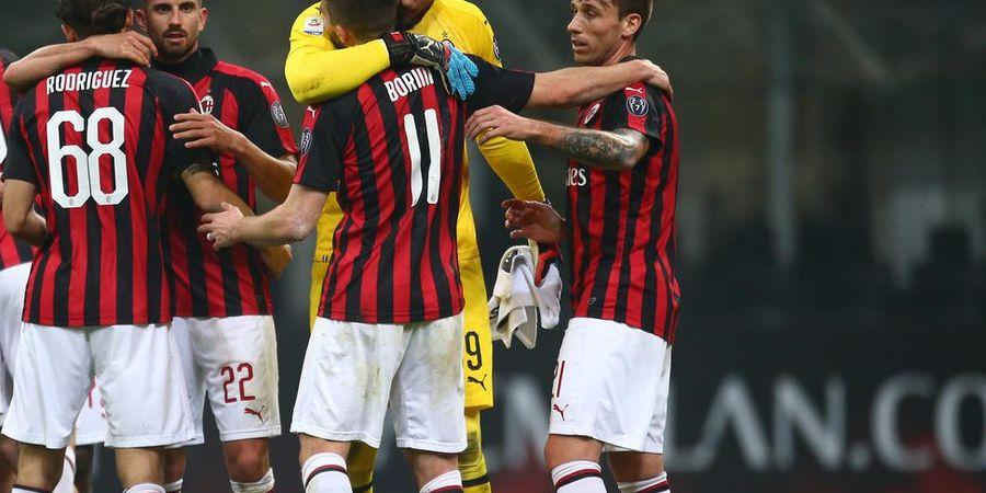 VIDEO - 3 Gol dalam 19 Menit, AC Milan Dekati Inter Milan di Klasemen Liga Italia